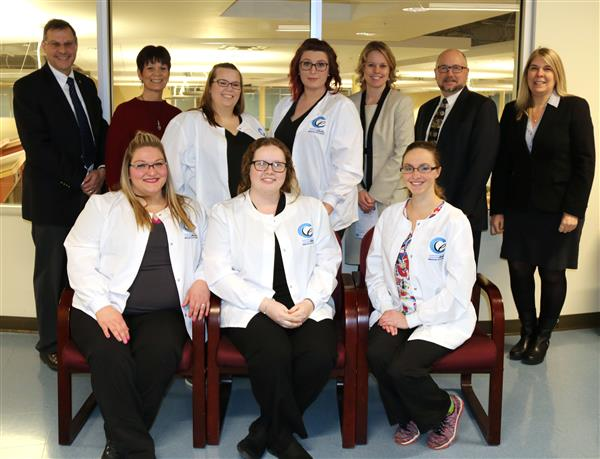 graduates of the medical assisting class with administration from CCCE and CiTi