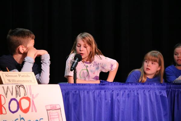 Students compete in Battle of the Books.