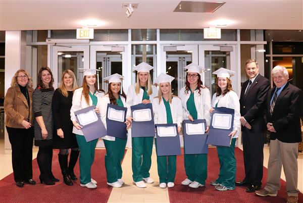 Dental Assisting Graduates.