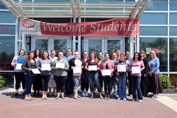 Practical Nursing students earn WorkKeys certificates.