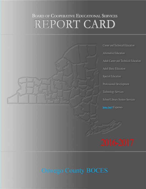 2016-17 BOCES Report Card