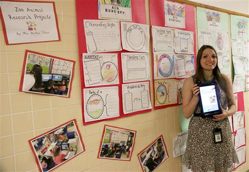June 2017 - Andrea Backus, Kindergarten Teacher at MACS