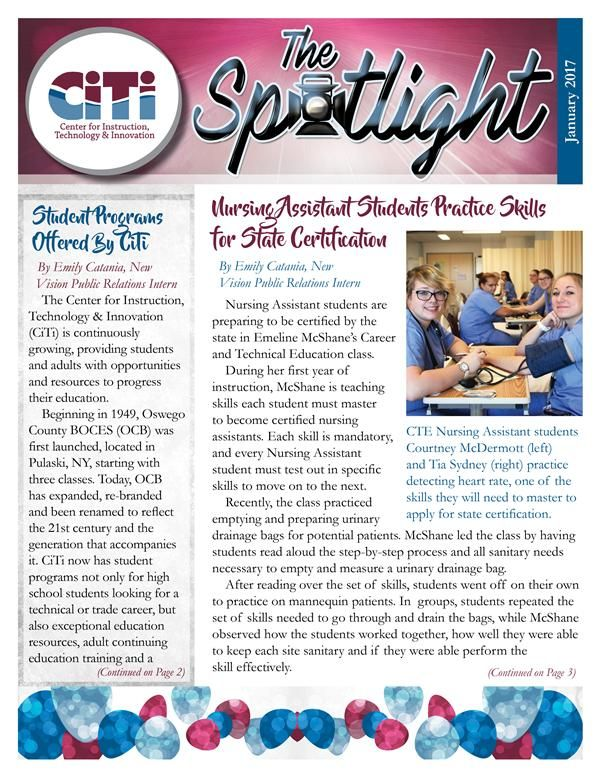 The Spotlight January 2017 Edition