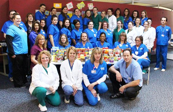 Adult Education Canned Food Drive